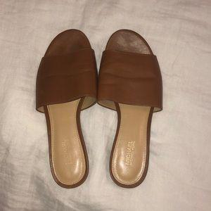 MICHAEL Michael Kors Shoes - Brown Michael by Michael Kors Sandals